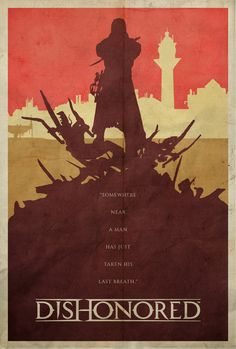 To the Rats - Dishonored Poster by Edwin Julian Moran II