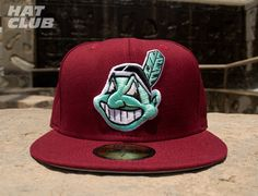 64727f764b6 New Fitteds   HAT CLUB  Custom NEW ERA x MLB「Cleveland Indians」59Fifty  Baseball Cap