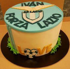 Forza Lazio cake Fondant, Birthday Cake, Sport, Desserts, Food, Deporte, Tailgate Desserts, Fondant Icing, Birthday Cakes