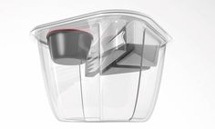 "Etude design pour des ""menus salades"" à emporter. Concept GIANT Plastic Food Packaging, Salad Packaging, Packaging Design, Meal Planning, Innovation, Container, Blog, Salad Menu, Salads To Go"