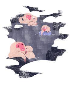 Bath Season on Behance