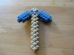 How to make a Lego Minecraft pickaxe