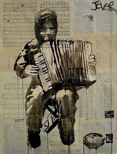loui jover art   Чернильные рисунки от Loui Jover