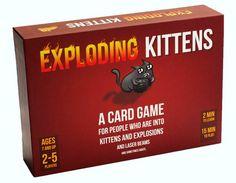 Exploding Kittens (Original Edition) - Engelstalig kaartspel