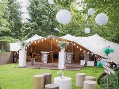 Garden Party Dcoration Tent 45 New Ideas Yard Wedding, Garden Party Wedding, Festival Wedding, Festival Party, Fun Party Themes, May Weddings, Deco Table, Wedding Trends, Wedding Ideas