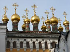 Terem Palace Church - Moscow, Kremlin by michael clarke stuff, via Flickr