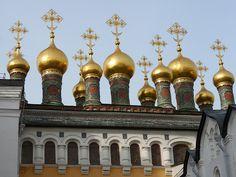 Terem Palace Church - Moscow, Kremlin by michael clarke stuff, via Flickr