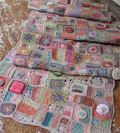 Povídání o bílé paní | Hlavní diskuse | diskuse | Fler.cz Manta Crochet, Freeform Crochet, Crochet Art, Love Crochet, Crochet Motif, Beautiful Crochet, Crochet Shawl, Crochet Designs, Crochet Stitches