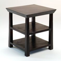 Special Offers - Rosewood Kishu Side Table in Deep Espresso - In stock & Free Shipping. You can save more money! Check It (April 23 2016 at 09:26AM) >> http://sofaarmchairusa.net/rosewood-kishu-side-table-in-deep-espresso/