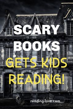 Scary books are a popular genre and can get kids to read more! These scary book suggestions will scare anyone - young or old! Good Parenting, Parenting Hacks, Natural Parenting, Scary Books For Kids, Special Kids, Book Suggestions, All Family, Chapter Books, Children's Literature