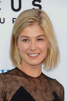 rosamund pike hair | 50 Best Celebrity Hairstyles - Rosamund Pike - Page 3 | Hair & Beauty ...