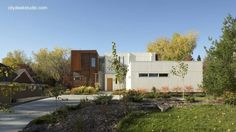 Contemporary residence in Roseville, MN, USA - Residencia contemporánea norteamericana