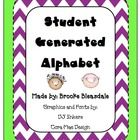 The Student Generated Alphabet is designed for students to add their personal creativity to the class alphabet. Students will create the pictures a...