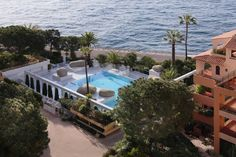 Hôtel Columbus Monte Carlo Monaco Offering an outdoor swimming pool with a sun deck lined with palm trees, Hôtel Columbus Monte Carlo overlooks the Mediterranean Sea, the Princess Grace Rose garden and the mountains. Guests are invited to work out in the private fitness centre.