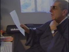 "Leonard Cohen reading ""Roshi at 89"""