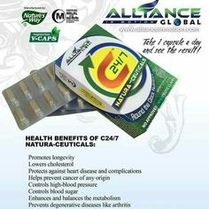 Try our C24/7. Manufactured by Nature's Way in the US and exclusively distributed by Alliance In Motion Global Incorporated.