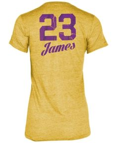 5th   Ocean Women s LeBron James Los Angeles Lakers Player Name and Number T -Shirt Women - Sports Fan Shop By Lids - Macy s 66af7e196