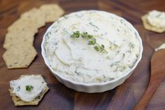"""Herbed Cashew """"Cheese"""" Spread"""