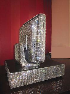 ICY COMPUTER MONITOR Beeldscherm met diamanten