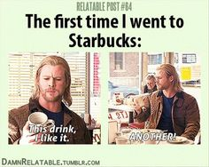 I actually don't remember my first time at Starbucks cuz it was so long ago! But this is still hilarious