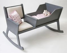 Design Baby Cradle Rocks Every Baby to Sleep