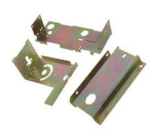 Colour Zinc Plated Metal StampingParts