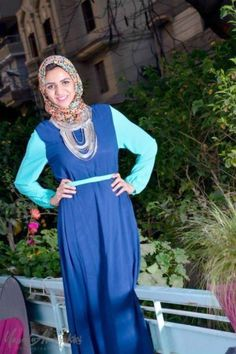 Casual hijab by Lady Fashion open day | Just Trendy Girls