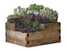 Want a raised bed planter that isn't ugly.