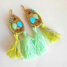 Bohemian summer earrings