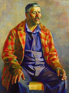 Juan Duran, 1933-1934, Kenneth M. Adams, oil on canvas, 40 1/8 x 30 1/8 in. (102.0 x 76.5 cm.), Smithsonian American Art Museum, Transfer from the U.S. Department of Labor, 1964.1.148