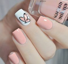 types of makeup nails art nailart - nail care types of makeup . - types of makeup nails art nail art – types of makeup nails art nail art care - Cute Spring Nails, Spring Nail Art, Summer Toenails, Nail Designs Spring, Cute Simple Nail Designs, Teen Nail Designs, Cute Simple Nails, Heart Nail Designs, Popular Nail Designs