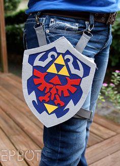 DIY Legend of Zelda Holster Bag