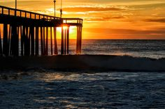 October Pic taken by Lea Doughty Ocean City Md, Sunrise, October, Celestial, Outdoor, Beautiful, Outdoors, Sunrises, Outdoor Games