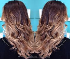 Balayage Ombre hair color.  Balayage specialist in Denver CO.  www.hairbynatalia.com