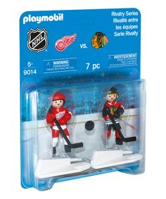 Look at this NHL® Rivalry Series - Chicago Blackhawks vs. Detroit Red Wings on #zulily today!