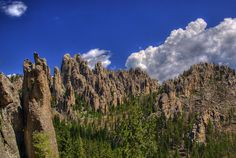 Needles Highway, Black Hills. Great for hiking, photos, and climbing :)