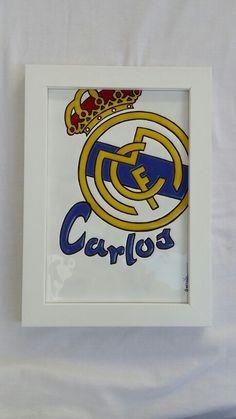 Escudo Real Madrid  Para los frikis  del fútbol