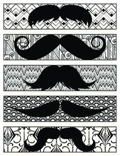 I mustache you to read!  These are simply some fun bookmarks to use as incentives to read or gifts to give to your students just because.  As I have a mustache theme in my classroom this year, I'm planning to use them to as a small gift encourage them to read even more for our Read Across America celebration this year.  :)  Students are sure to enjoy using them to keep their place in books as well as wearing them to make it look as if they have mustaches.