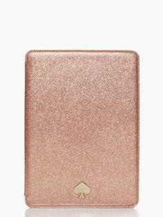 fashionable geek ipad air hardcase glitter bug by Kate Spade.