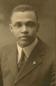 Saint Elmo Brady, the FIRST African American Ph.D. in Chemistry. (Public Domain)