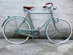 "1952 Bianchi Zaffiro Restoration. You should see the ""before"" of this bike; it's amazing!"