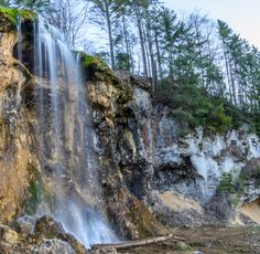 Pisoaia waterfall, Romania - Photography by Arpad Laszlo