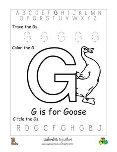 Printables Letter G Worksheets For Kindergarten activities the ojays and alphabet worksheets on pinterest for preschoolers worksheet big letter g coloring pages free