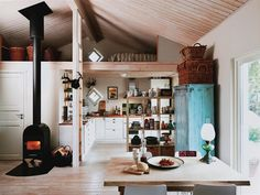 from interiors: swedish cottage