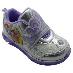 Toddler Girls' Princess Athletic Sneakers - Silver