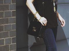 rebecca minkoff mini bag and Kendra Scott jewelry   allyson in wonderland