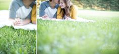 sweet bloomer engagement session