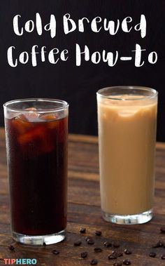 Summer is the season for iced coffee. And the hottest trend in the coffee world is cold-brew. You don't need to invest in expensive equipment to make it at home, all you need is a French press and this easy how to. We'll show you two ways to craft this icy beverage - straight up and perfectly sweet. Enjoy!