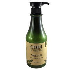 CODI - GREEN TEA HAND & BODY LOTION 25OZ