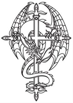 38 Best Ideas For Wood Carving Patterns Templates Urban Threads Colouring Pages, Adult Coloring Pages, Coloring Books, Wood Carving Designs, Wood Carving Patterns, Dragon Coloring Page, Dragon Sketch, Dragon Tattoo Designs, Dragon Pattern